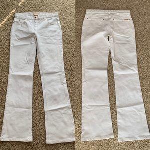 EUC Michael Kors White Flared Jeans Size 2